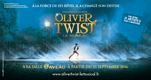 OLIVER TWIST affiche du spectacle
