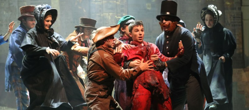 Oliver Twist le Musical  le spectacle à paris