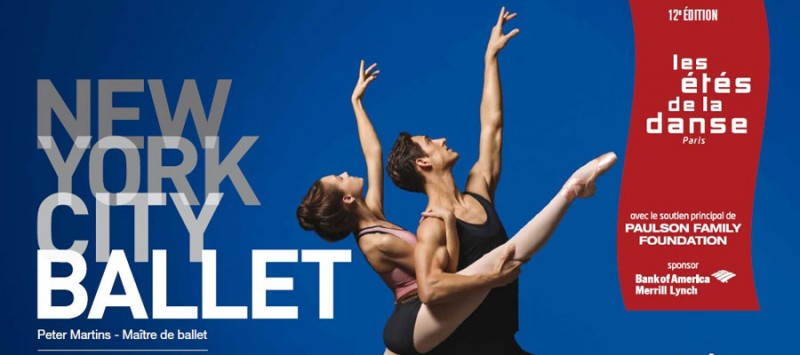 Le New york City Ballet invité à Paris