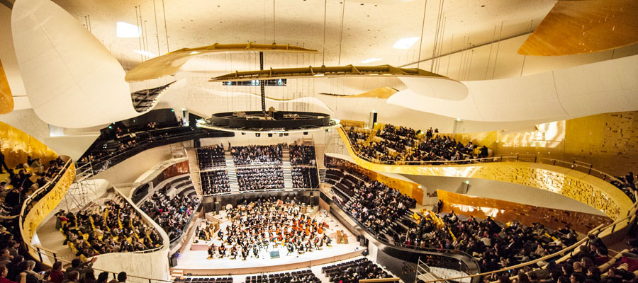 places concert philharmonie de paris